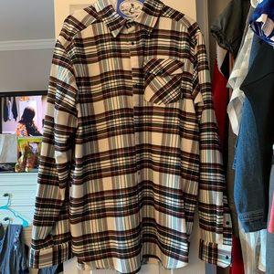 Men's adidas flannel